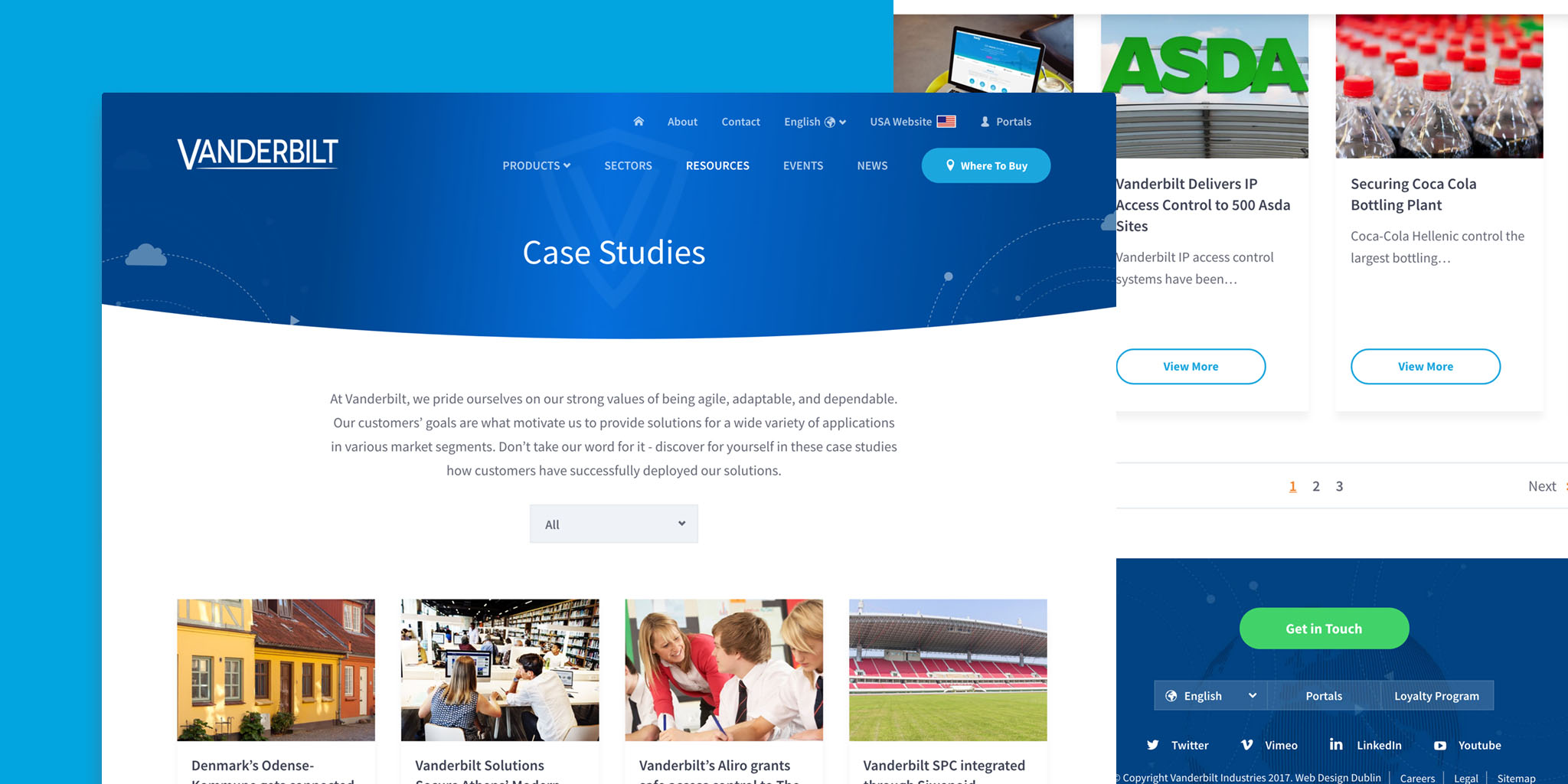 Case Studies Website
